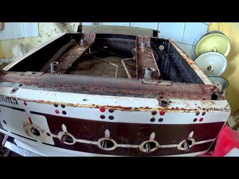 Разборка газовой плиты для ремонта