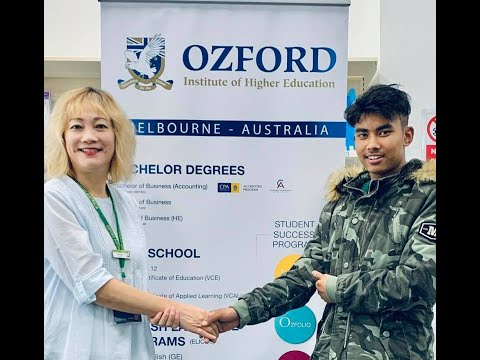 Ozford Institute of Higher Education Orientation, March 2020.