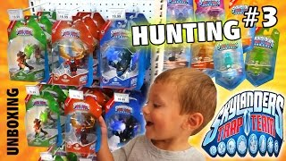 Skylanders Trap Team Hunting: Lob Star, Bushwhack, Head Rush + 8 Traps Unboxing! Wave 2 Finale (#3)