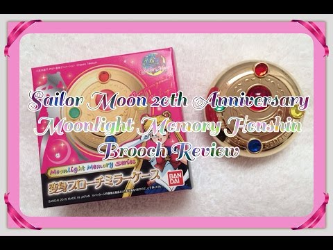 Sailor Moon Moonlight Memory Henshin Brooch Review セーラームーン