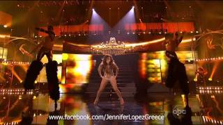 Jennifer Lopez - Papi & On The Floor (Live at American Music Awards 2011) (HD)