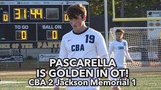 CBA 2 Jackson Memorial 1 (OT) |  SCT Semis | Luke Pascarella Golden Goal