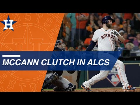 McCann makes big impact to help lift Astros in ALCS