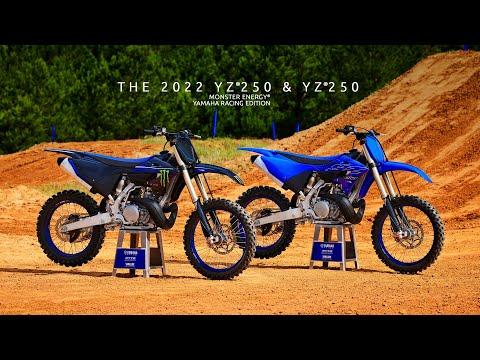 2022 Yamaha YZ250 Monster Energy Yamaha Racing Edition in Cambridge, Ohio - Video 1