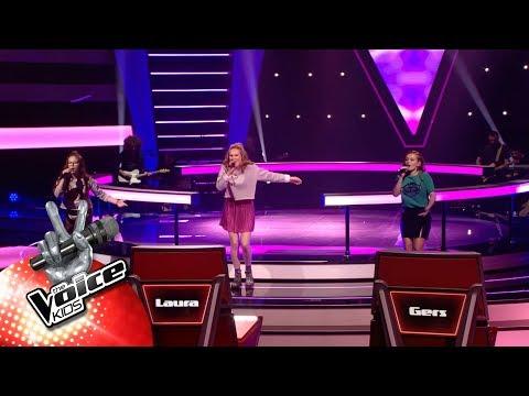 Noa, Sari & Kato - 'Youngblood' | The Battles | The Voice Kids | VTM