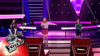 Noa, Sari & Kato   'Youngblood' | The Battles | The Voice Kids | VTM