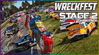 FLYING at the Farmlands! | Stage 2 | No Reset Challenge | Wreckfest