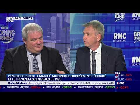 Pierre Boulet (Novares): Le marché automobile s'est écroulé à cause de la pénurie de puces