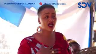 President usikubali tunyanyaswe na baba wa kambo- Laikipia Women Rep