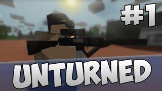 Unturned #1 Лут Военной базы!