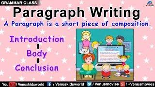 Grammar Class ~ Paragraph Writing