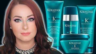 Kérastase Résistance Hair Products Review - Thérapiste line, Extentioniste & Force Architecte Masks