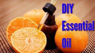 Homemade Orange Essential Oil
