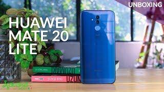 Huawei Mate 20 Lite, UNBOXING y PRIMERAS IMPRESIONES en México