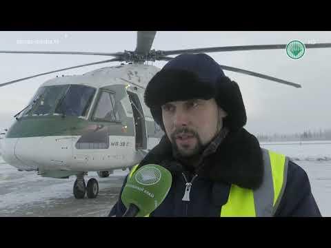 Испытания вертолета Ми-38 при морозе в 45 градусов показали на видео