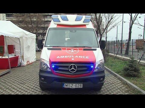 Új rohammentője a Magyar Máltai Szeretetszolgálatnak - video preview image