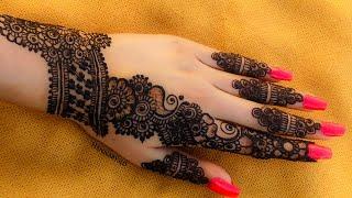 New Stylish Henna Mehndi Design 2020 | New Mehndi Design For Bignners | Hennabysid