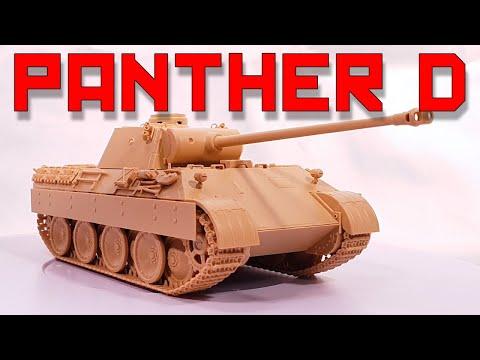 Tamiya USA TAM32597 1//48 German Tank Panther Ausf D