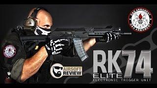 RK74 ELITE ETU # G&G ARMAMENT / AIRSOFT REVIEW [ENG SUB]