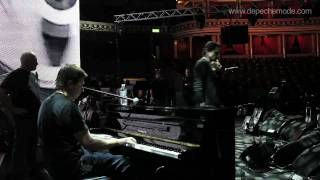 """Somebody"" (Soundcheck with Alan Wilder and Martin L. Gore)"