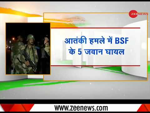 Five BSF jawans injured in Srinagar