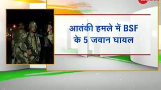 Five BSF jawans injured in Srinagar