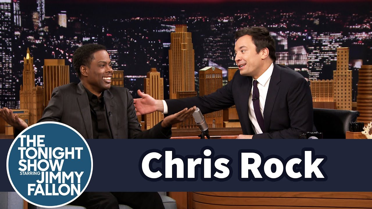 Chris Rock Gives Jimmy Two-Time Dad Advice thumbnail