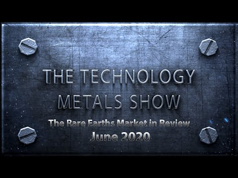 The Rare Earths Market in Review – June 2020 Thumbnail