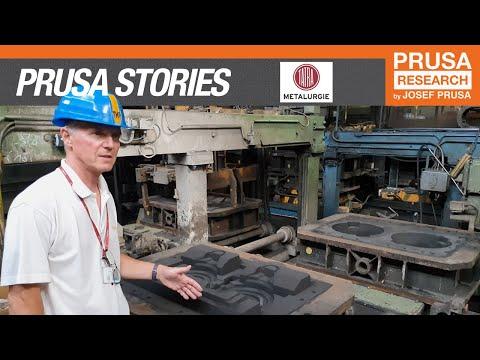 Prusa 3D printing stories: Tatra Metalurgie - Desktop 3D printer in a heavy industry
