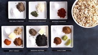 6 Ways To Flavor Your Popcorn