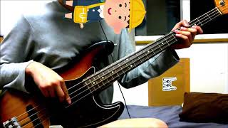 311 - Slinky 【Bass Cover】