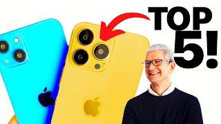 Apple iPhone 13: 5 BEST things!