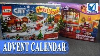 Обзор LEGO Advent Calendar рождественский календарь серия City и Friends