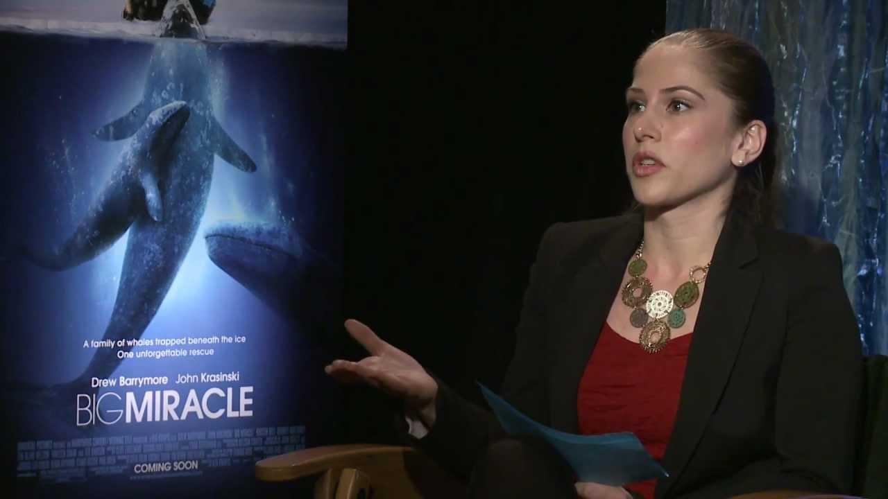 Ana Talks To Kristen Bell, John Krasinski, Drew Barrymore, & Ted Danson for Big Miracle thumbnail