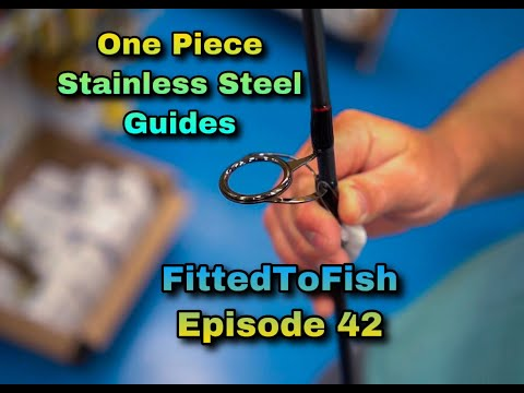 New One Piece Stainless Steel Guides By Penn