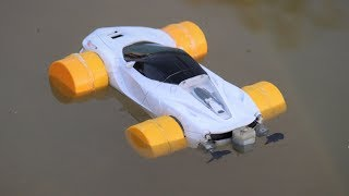 How to make a Car drive in water