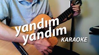 Mazhar Alanson - Yandım Yandım Akustik Karaoke