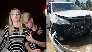 ME AND MY GIRLFRIEND GOT INTO A CAR CRASH! (SCARY) FT.  Zoe Laverne and Cody Orlove!