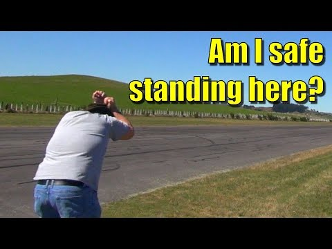 stone-blue-airlines-p51-rc-plane-crashes-oops