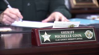 Who is Clay County Sheriff Michelle Cook?