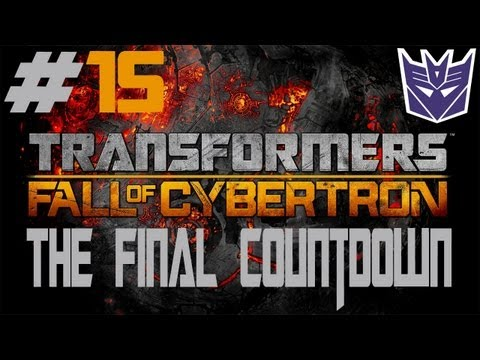 Transformers: Fall Of Cybertron - Walkthrough - Part 15 - [The Final Countdown] - Planet Buster
