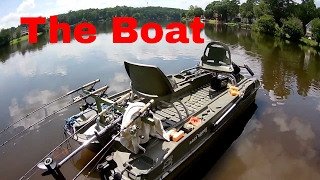 Cam's Crappie Hole(A LOOK AT THE BOAT TUTORIAL)