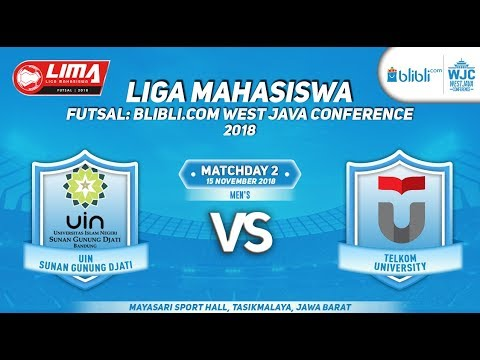 UIN SGD VS TELKOM   LIMA FUTSAL : BLIBLI.COM WEST JAVA CONFERENCE 2018