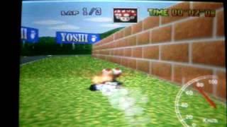 "Mario kart 64 - MR lap 27"" 83 GOD"