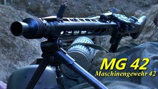 My Original WW2 German MG42 Machine Gun - Maschinengewehr 42 - Deactivated MG42