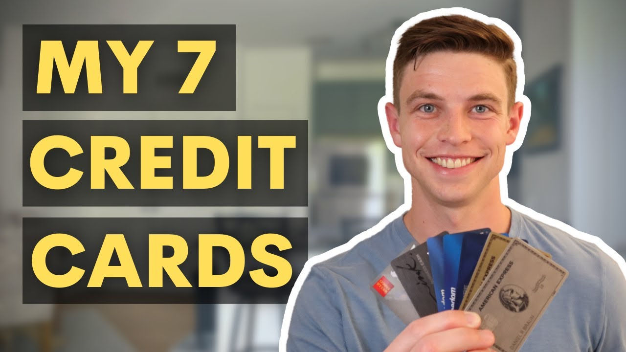 The 7 Credit Cards That I Have at Age 25 (My Charge Card Journey) thumbnail