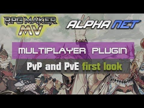 RPG Maker MV Multiplayer PvP test