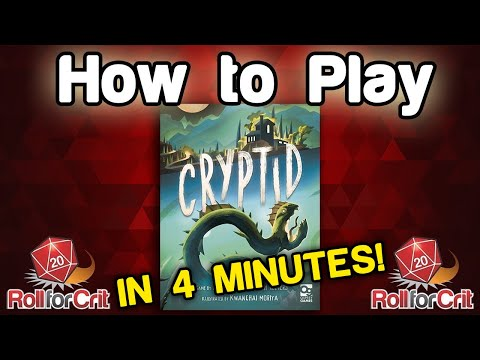 How to Play Cryptid | Roll For Crit