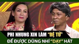 Phi Nhung xin làm đệ tử để được Dũng Nhí dạy hát cải lương | Tài Tử Tranh Tài Tập 11