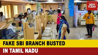 Fraud Bank: Son Of Former Bank Employee Opens Fake SBI Branch In Tamil Nadu, Nabbed With 2 Others - Download this Video in MP3, M4A, WEBM, MP4, 3GP
